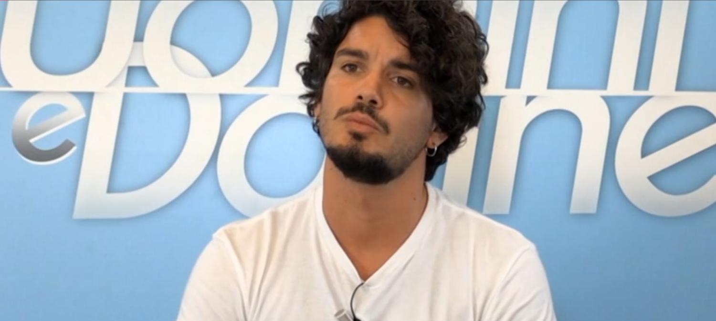 """Le prime parole di Gianluca De Matteis dopo l'addio al Trono: """"L'amore non è un contratto"""""""