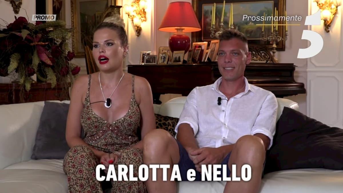 Carlotta e Nello falò finale di Temptation Island infuocatissimo |  i colpi di scena