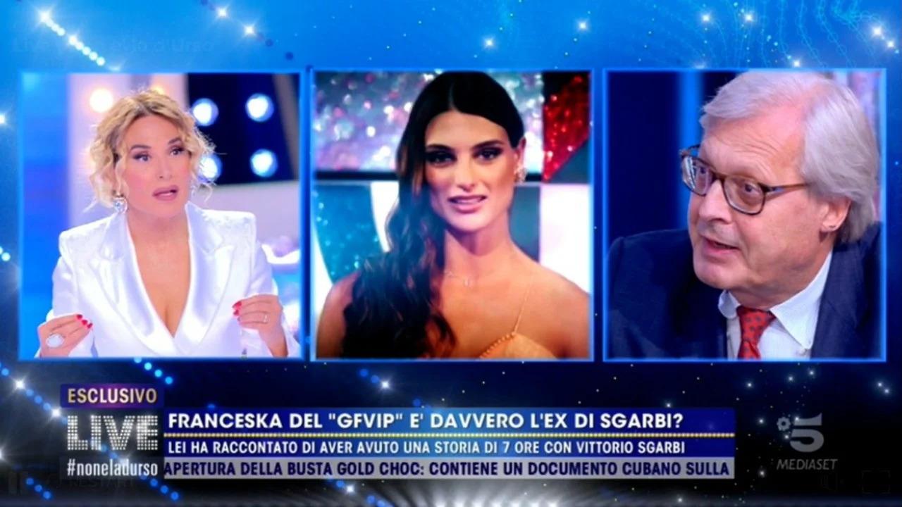Vittorio Sgarbi e Franceska Pepe hanno avuto una relazione? Parla lui
