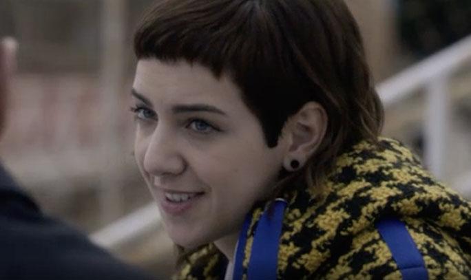 Anna Lou Castoldi interpreta il personaggio di Aurora in Baby 3