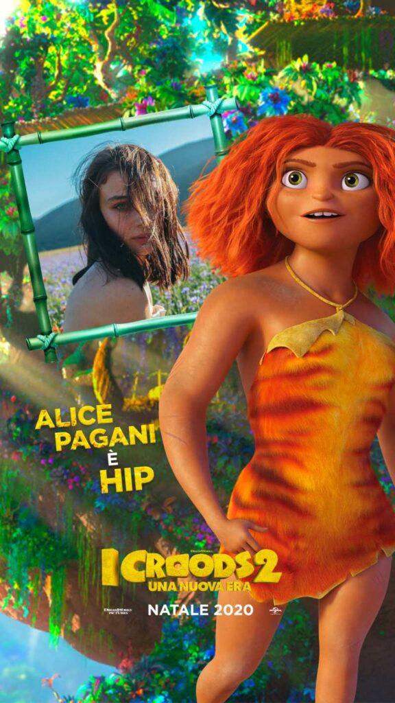 I Croods 2, Alice Pagani doppiatrice di Hip
