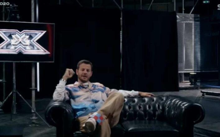 Alessandro Cattelan mostra il nuovo studio di X Factor 2020 nell'epoca del Coronavirus
