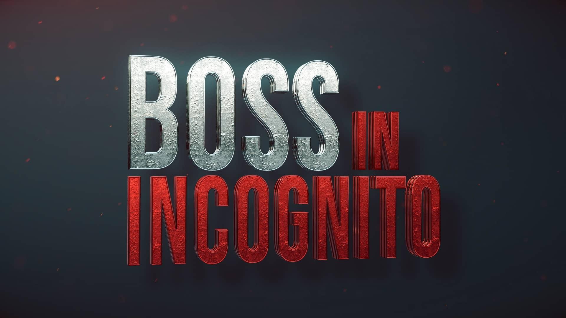 Boss in incognito: come vedere la replica dell'ultima puntata