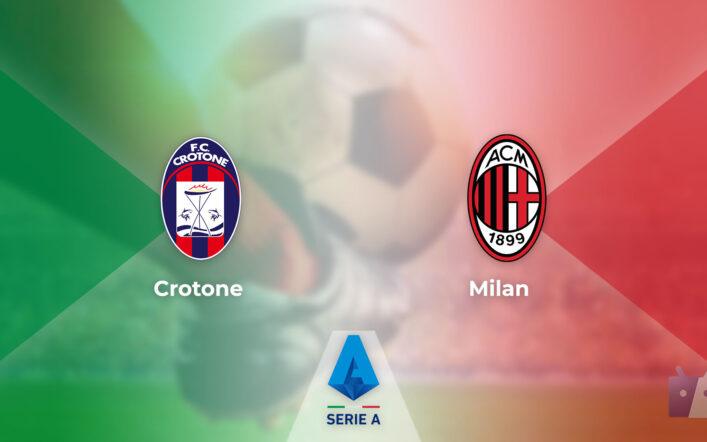 Dove vedere la partita tra Crotone e Milan in TV e streaming