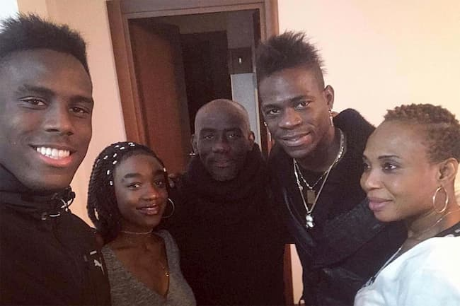 Famiglia di Enock Barwuah