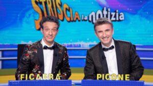 foto Ficarra e Picone a Striscia la notizia