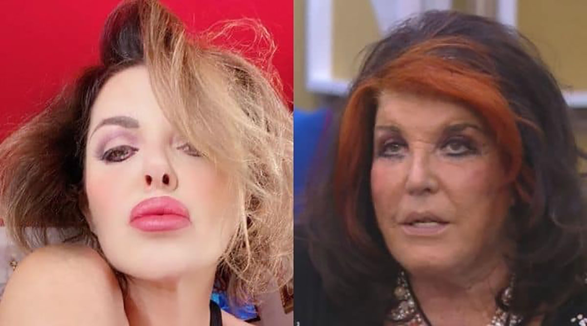 Grande Fratello Vip 5 |  Patrizia De Blanck attacca Alba Parietti |  lei interviene in diretta