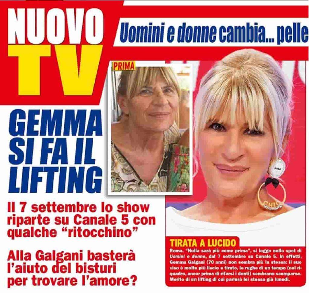 Gemma Galgani lifting