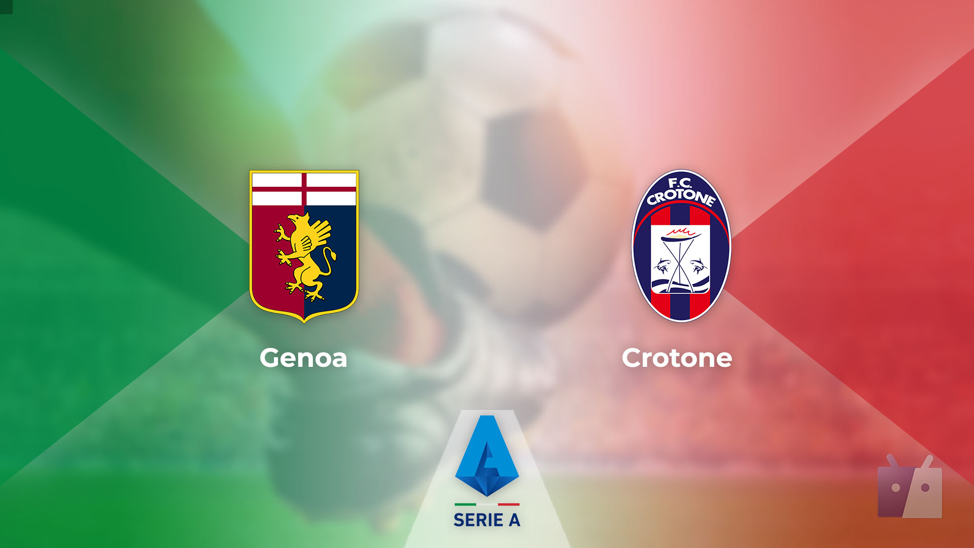 Dove vedere la partita tra Genoa e Crotone in TV e streaming