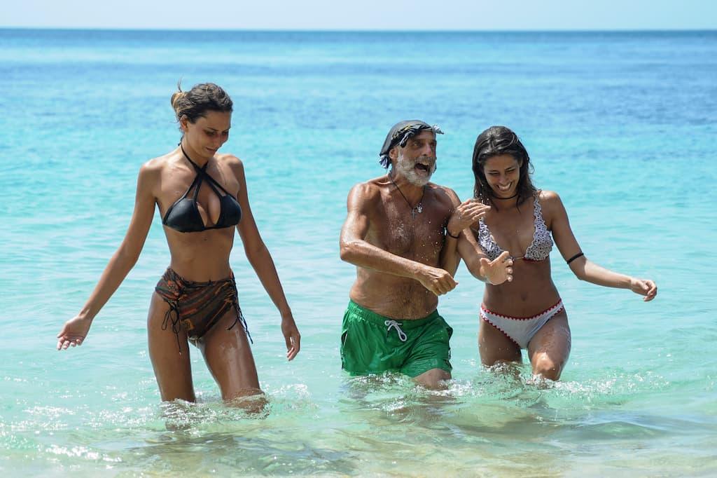 Alcuni concorrenti di una passata edizione dell'Isola dei famosi