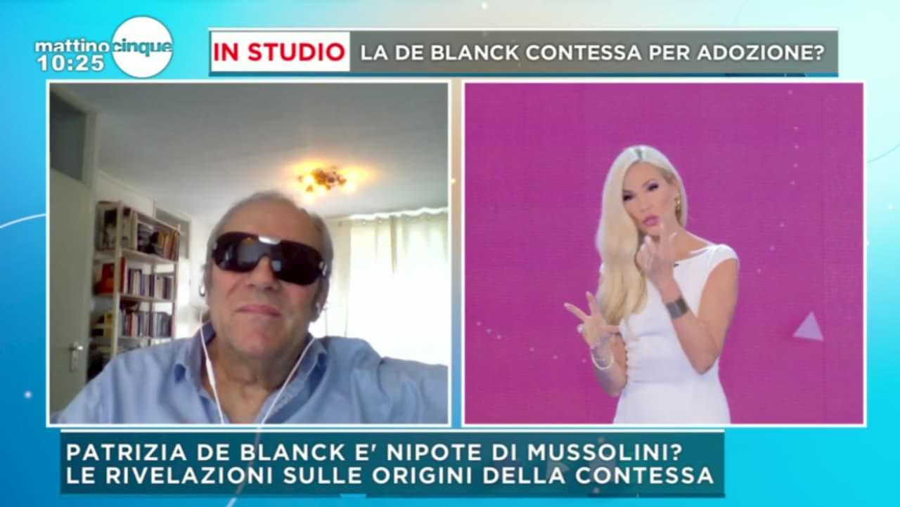 """L'ex amante di Patrizia De Blanck: """"È una massacratrice"""". Intanto la Contessa dà della str***a a Tina Cipollari (video)"""