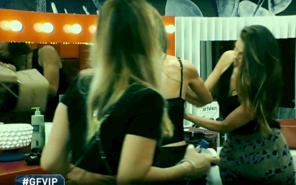 Nuova lite tra Franceska e Dayane Mello, il gesto impulsivo della modella brasiliana (video)