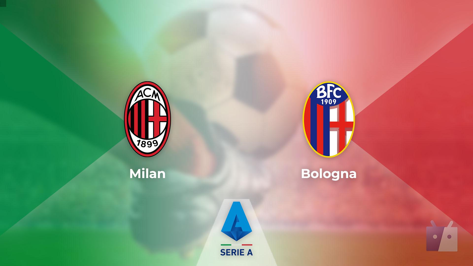 Dove vedere la partita tra Milan e Bologna in TV e streaming