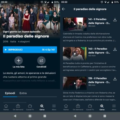 RaiPlay download offline