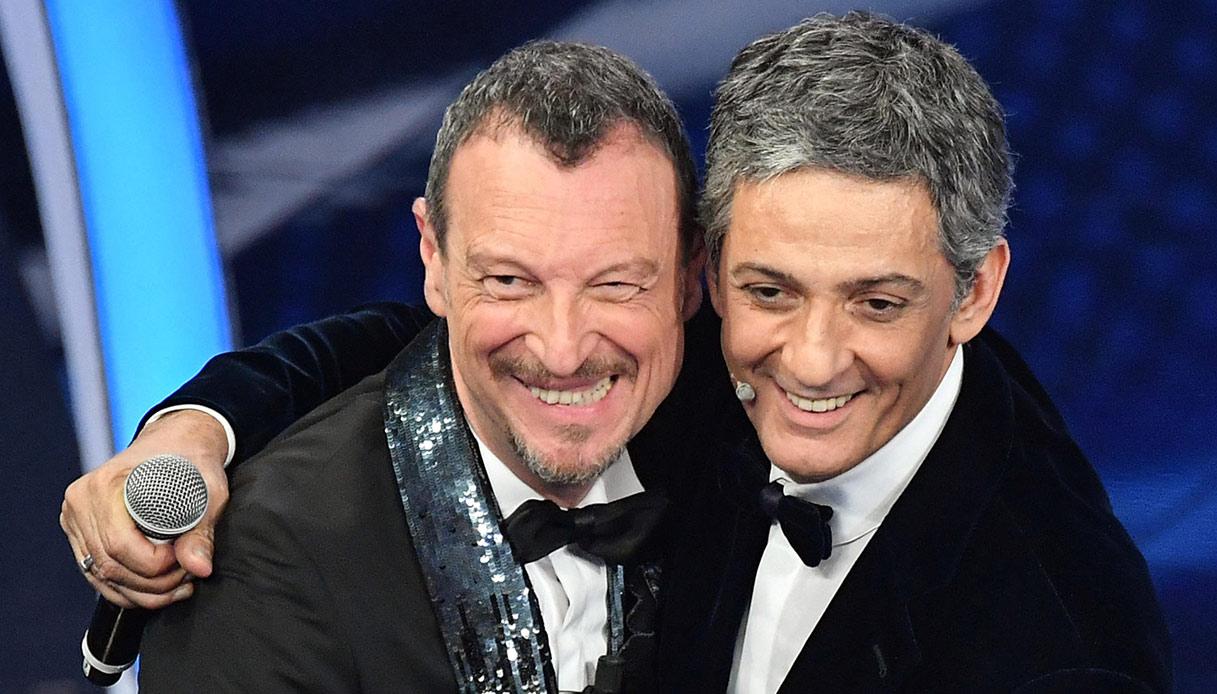 Amadeus e Fiorello conduttori di Sanremo 2021