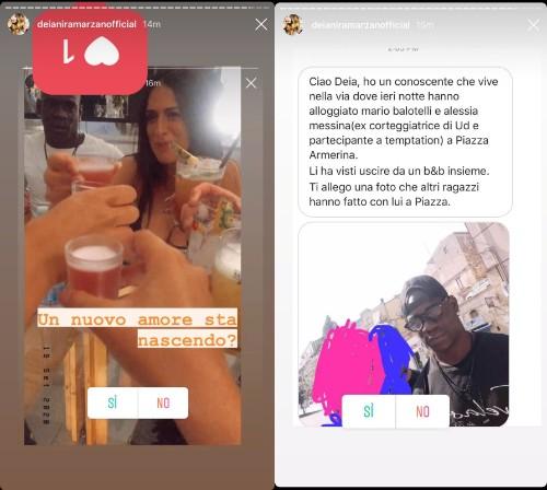 Segnalazione su Mario Balotelli e Alessia Messina