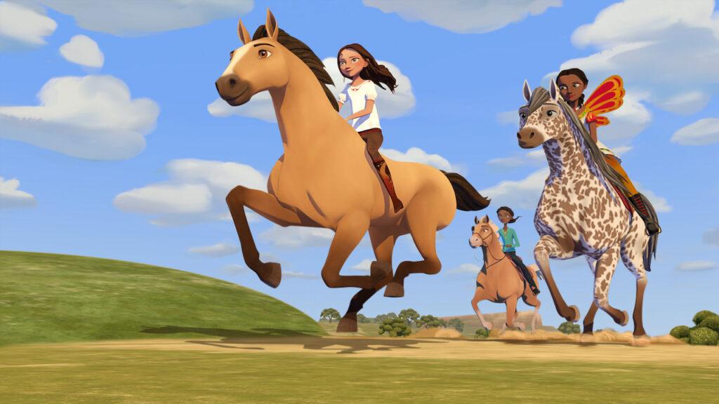 Spirit: Avventure in libertà: l'Accademia equestre (serie TV Netflix)