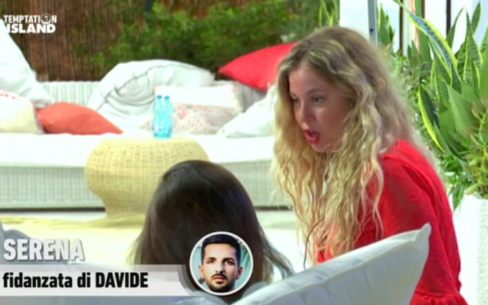 Temptation Island, Serena si ribella a Davide e si dice pronta a lasciarlo (video)