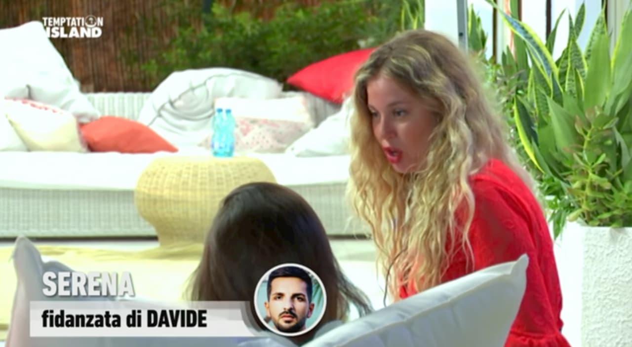 Temptation Island, Serena si ribella a Davide e si dice pronta a lasciarlo (video)