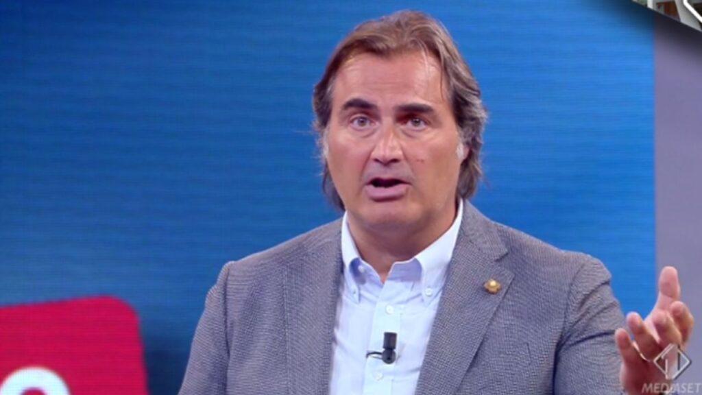 L'ex conduttore di Tiki Taka Pierluigi Pardo