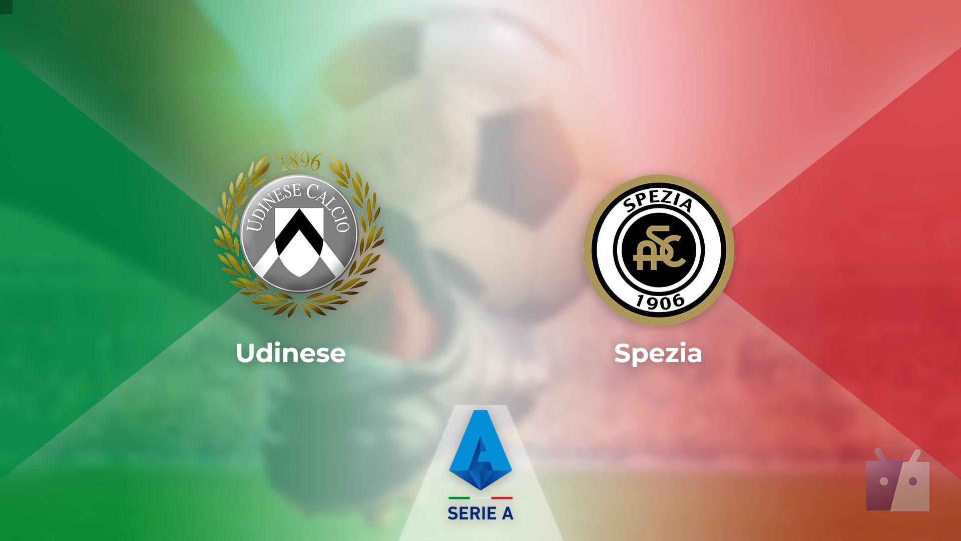 Dove vedere la partita tra Udinese e Spezia in TV e streaming