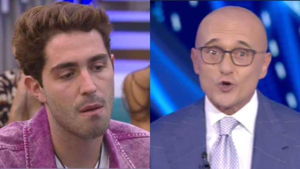 Tommaso Zorzi sbotta contro Signorini al GF VIP 5: 'Stro**zo me ne vado' (video)