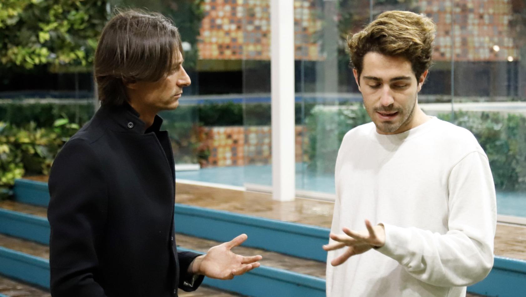 Tommaso Zorzi confessa di avere una cotta per Oppini (stavolta davvero)