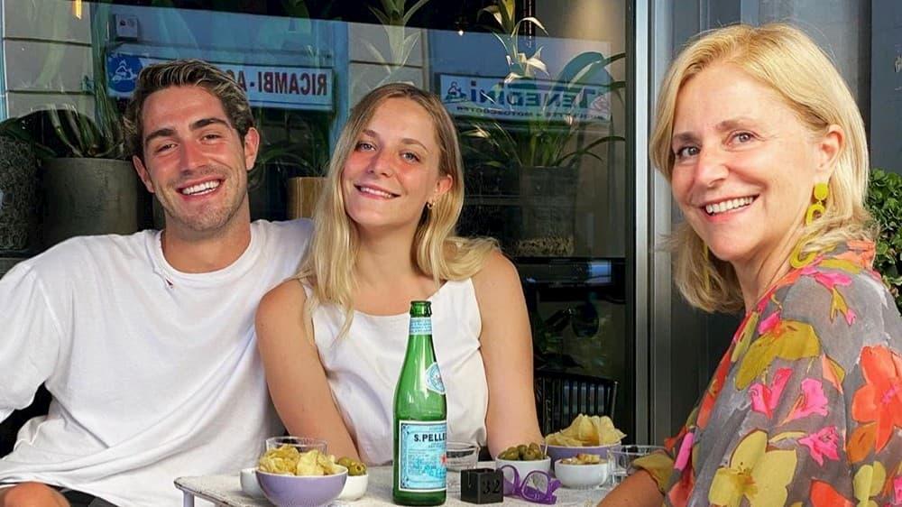 La sorella e la madre di Tommaso Zorzi