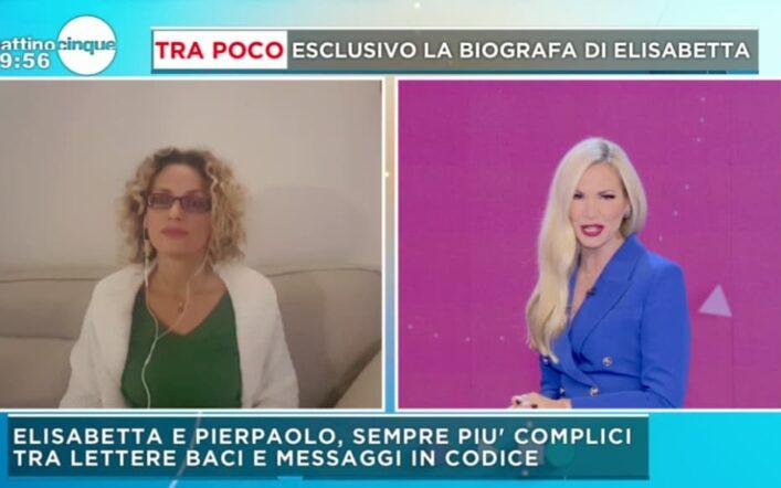 Tutta la verità della biografa di Elisabetta Gregoraci a Mattino 5 (video)