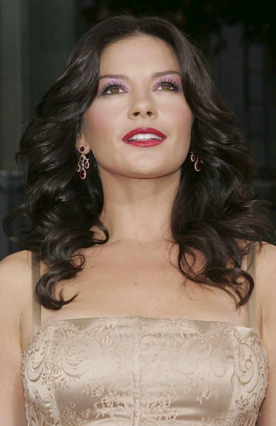 Catherine Zeta Jones prima della chirurgia estetica