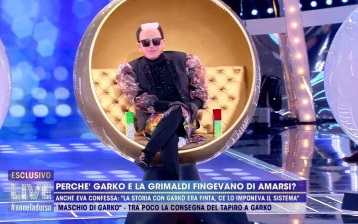 """Cristiano Malgioglio senza freni su Garko: """"L'ho subito pensato"""""""