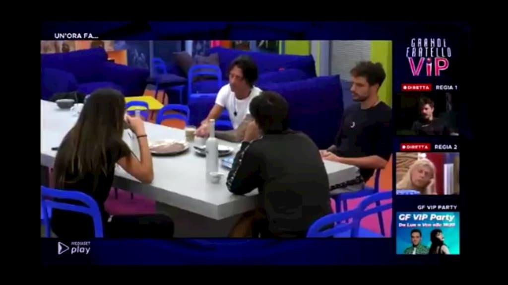 Francesco Oppini straparla della stanza blu, con Tommaso è quindi solo strategia?