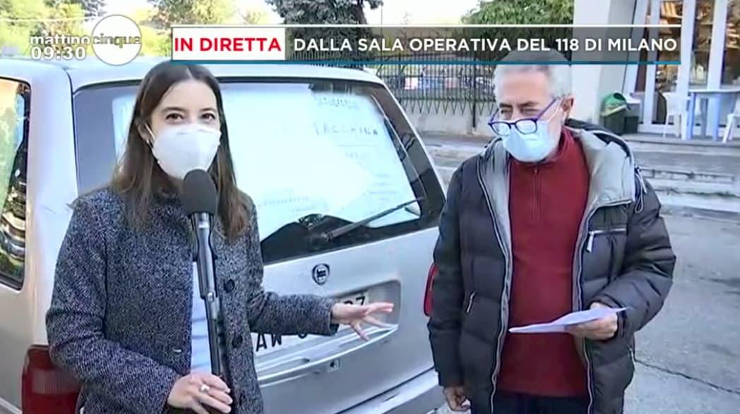 Mattino 5: la storia di Giuliano, l'uomo che da 8 anni vive in auto a Milano