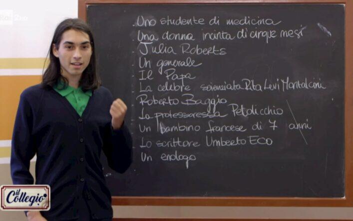 La prima puntata de Il Collegio 5 scivola via tra 883, Chiara Ferragni e peperoni