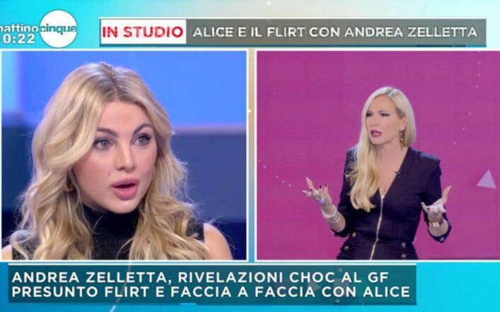 Elisabetta Gregoraci e Andrea Zelletta, gli altarini si scoprono