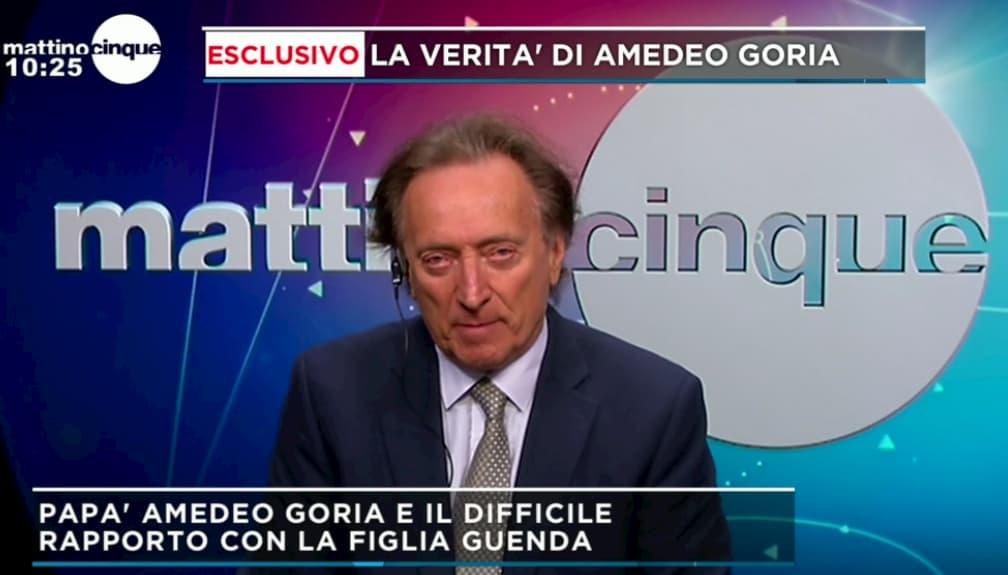 Amedeo Goria smentisce il compagno di Maria Teresa a Mattino 5