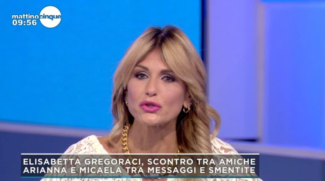 """A Mattino 5 Arianna David contro la sorella e l'avvocato della Gregoraci: """"Voglio che mi facciate pubblicamente le scuse"""""""
