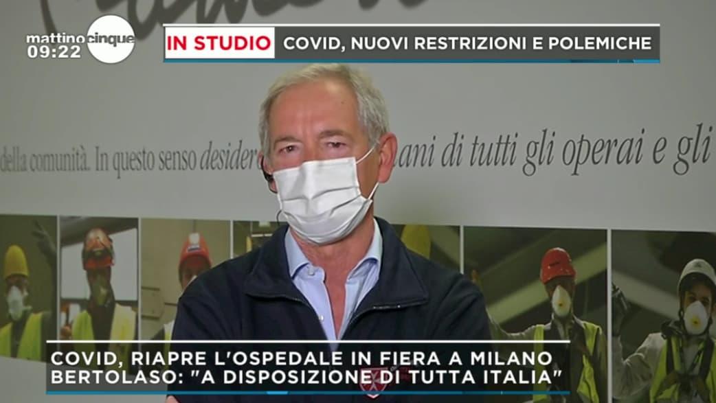 """Mattino 5, Guido Bertolaso si scaglia contro il governo: """"Stiamo andando a sbattere"""""""