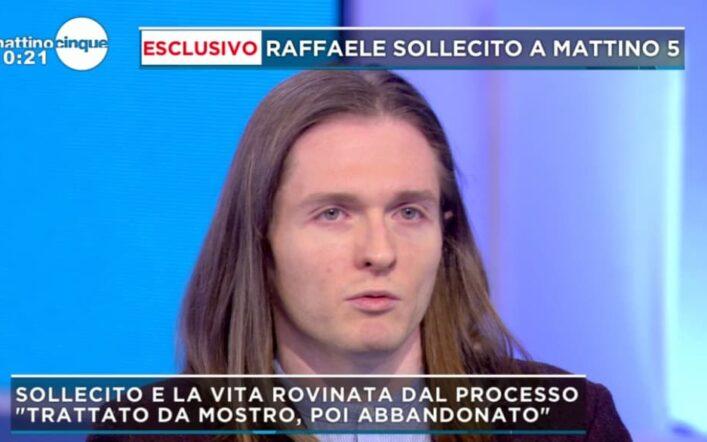La verità choc di Raffaele Sollecito a Mattino 5