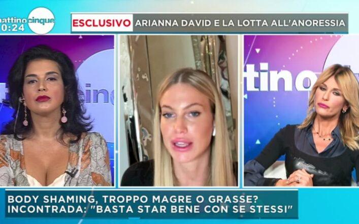 Taylor Mega risponde alle accuse di anoressia e demolisce Claudia Letizia a Mattino 5