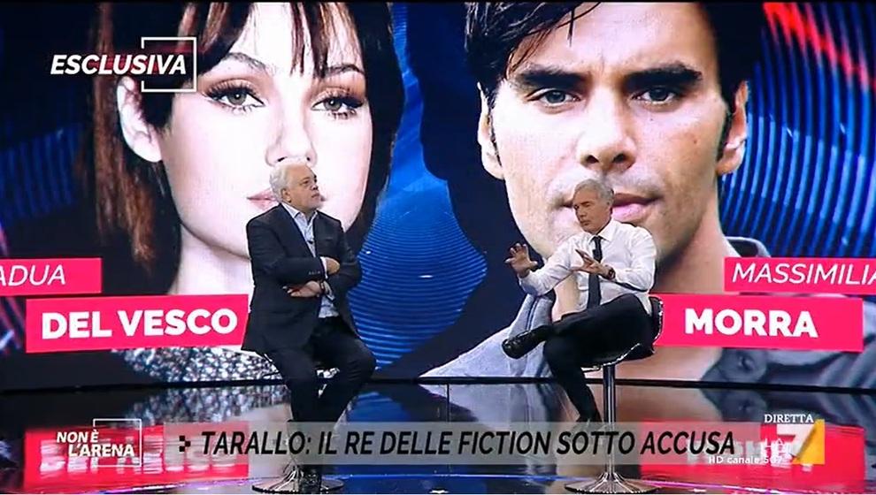 """Ares Gate, Alberto Tarallo a Non è l'Arena: """"Adua e Morra mai stati fidanzati, fu lei che fece cacciare Massimiliano"""""""