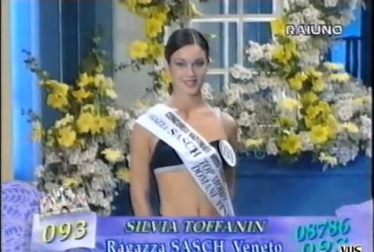 Silvia Toffanin a Miss Italia