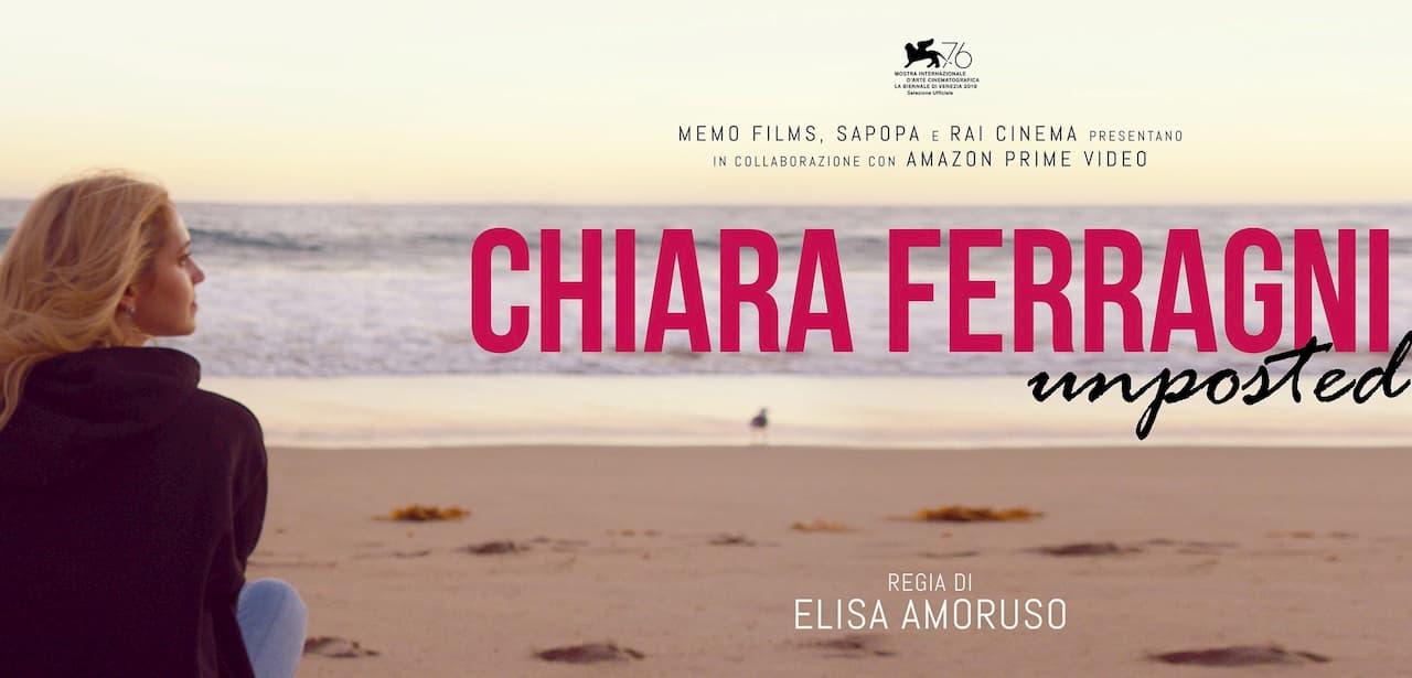 Unposted di Chiara Ferragni non andrà più in onda su Rai 2 lunedì 5 ottobre