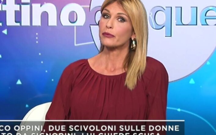 """Arianna David fa una confessione choc a Mattino 5: """"Mi ha puntato una pistola alla testa"""" (video)"""