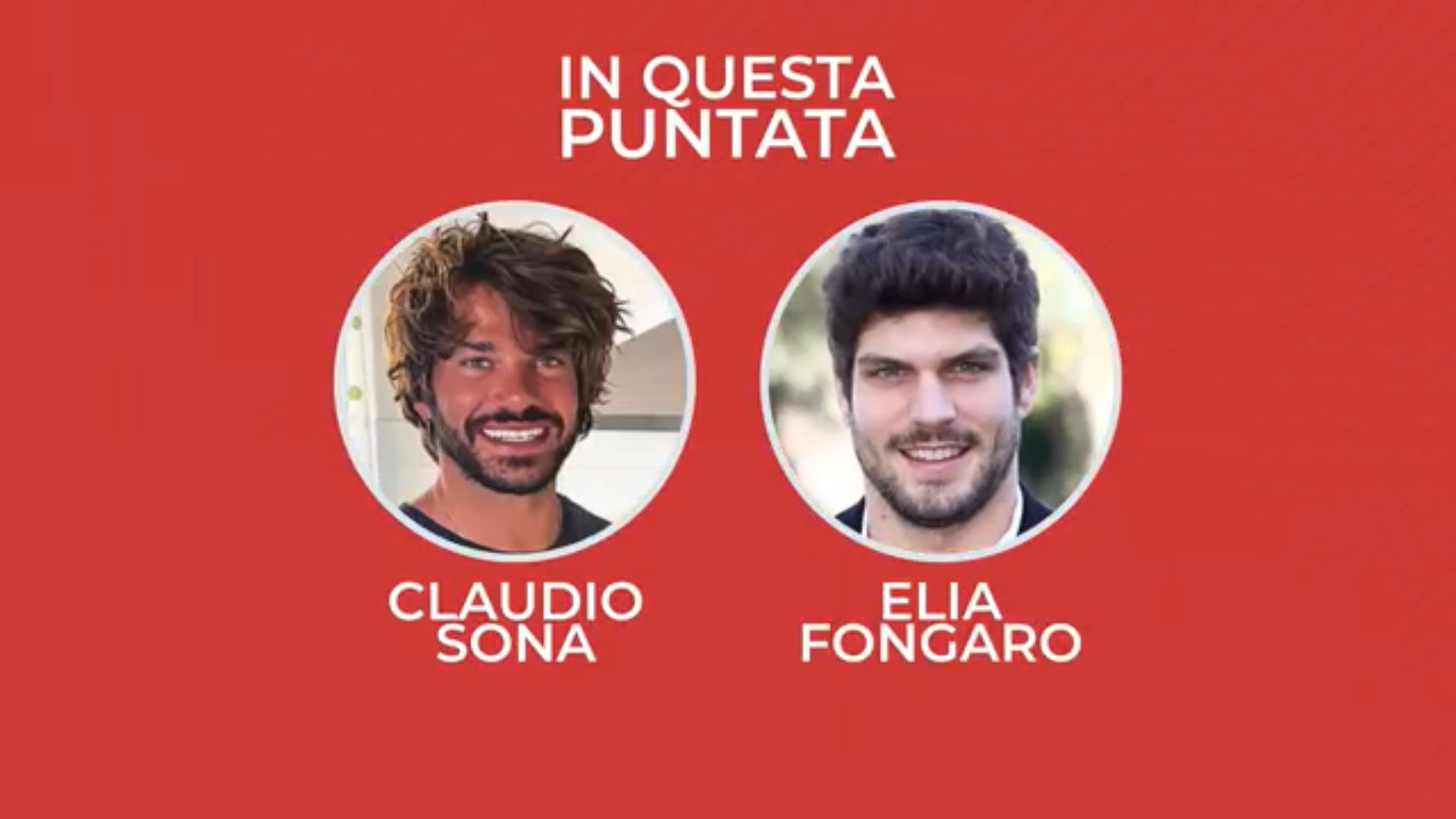 Grande Fratello Vip 5, Claudio Sona e Elia Fongaro ospiti a Casa Chi fanno rivelazioni choc