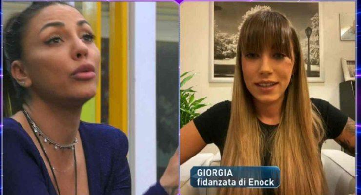"""Selvaggia Roma e lo scontro con la fidanzata di Enock in diretta: """"Sei cornuta"""" (VIDEO)"""