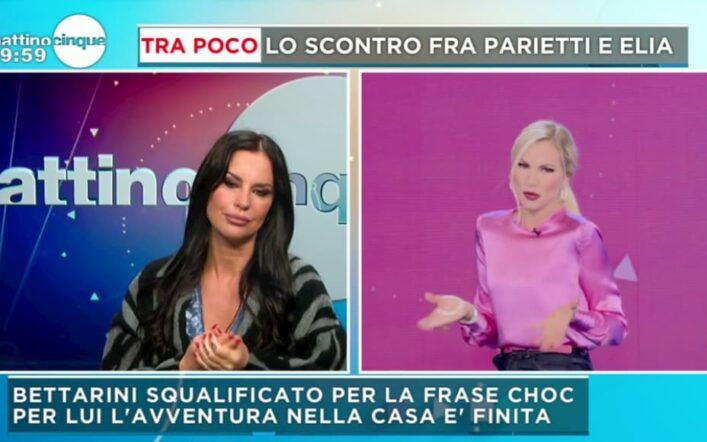 """Antonella Mosetti la tocca piano su Bettarini: """"Stefano ha una doppia faccia"""""""