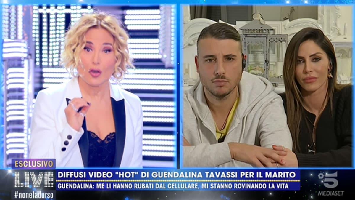 Guendalina Tavassi disperata per i video rubati a Live Non è la D'Urso