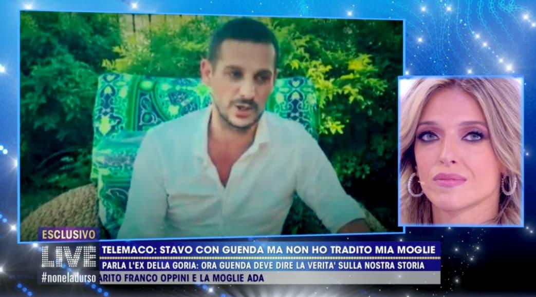 A Live Non è la d'Urso Guenda ha rivisto l'ex fidanzato Christian, ma anche Telemaco