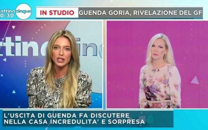 Guenda Goria è ancora perplessa per il televoto che le è costata l'eliminazione